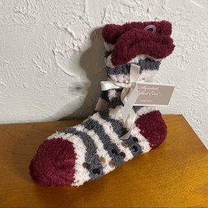 NWT Bath & Body Works fuzzy socks